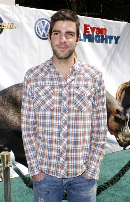 Zachary Quinto At Arrivals For Los Angeles Premiere Of Evan Almighty, Gibson Amphitheatre At Universal Studios, Los Angeles, Ca, June 10, 2007. Photo By Michael GermanaEverett Collection Celebrity - Item # VAREVC0710JNJGM015