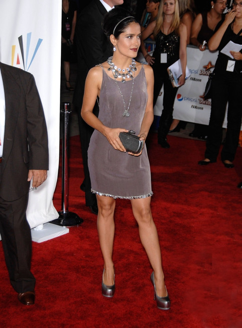 Salma Hayek At Arrivals For The Nclr 2009 Alma Awards, Royce Hall On Ucla Campus, Los Angeles, Ca September 17, 2009. Photo By Michael GermanaEverett Collection Celebrity - Item # VAREVC0917SPLGM191
