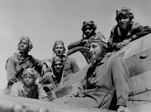 Seven African American Fliers On Airplane History - Item # VAREVCHISL014EC015