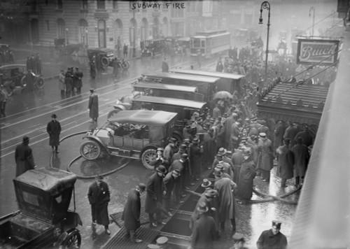 New York City Subway Fire History - Item # VAREVCHCDLCGBEC713