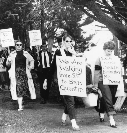 Anti-Capital Punishment Demonstrators Marched To San Quentin Prison May 1 History - Item # VAREVCCSUB002CS079