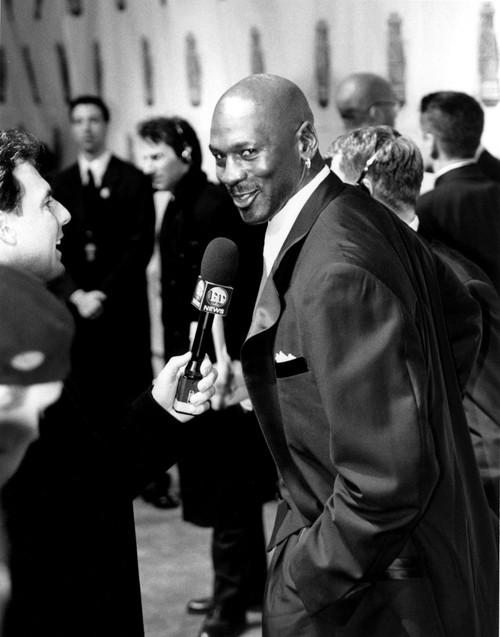 Michael Jordan Being Interviewed At The Sports Illustrated Century Sports Awards, 12299 Celebrity - Item # VAREVCPBDMIJOCJ001