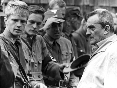 Luchino Visconti During Production Of The Damned History - Item # VAREVCPBDLUVIEC002