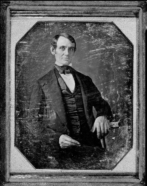 Abraham Lincoln In Daguerreotype By Nicholas H. Shepherd Between 1846-47 History - Item # VAREVCHISL006EC023