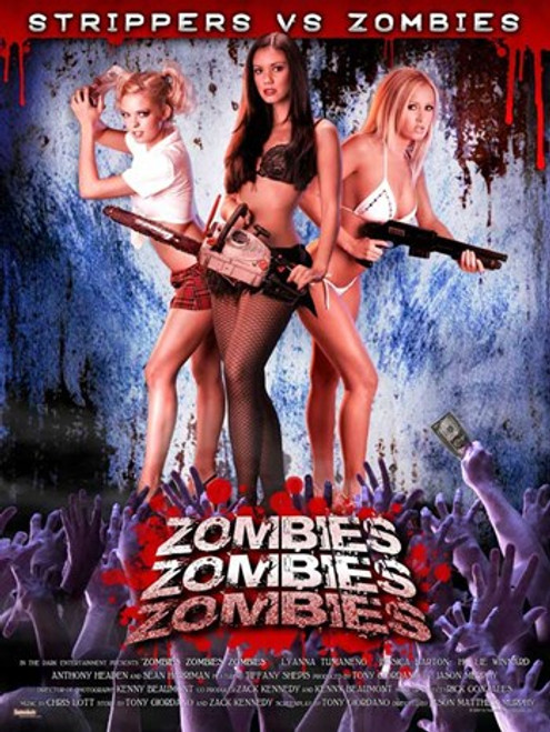 Zombies Zombies Zombies, c.2008 Movie Poster (11 x 17) - Item # MOV541078