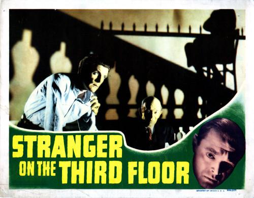 Stranger On The Third Floor Still - Item # VAREVCMCDSTONEC129