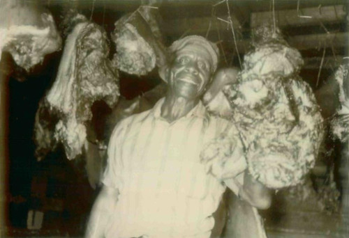 Pop Jackson Set Up A Smoke House For Meat History - Item # VAREVCHISL034EC388