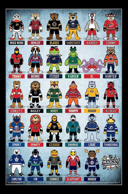 NHL_ - Mascots Poster Print - Item # VARTIARP15822
