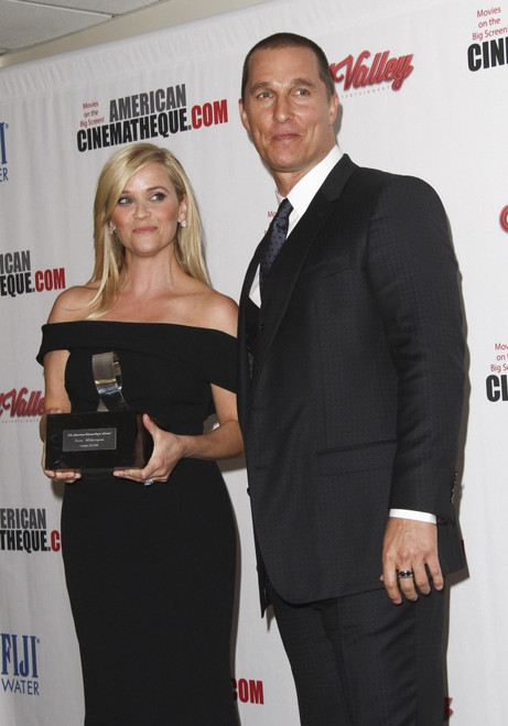 Reese Witherspoon, Matthew Mcconaughey At Arrivals For 29Th American Cinematheque Award, The Hyatt Regency Century Plaza Hotel, Los Angeles, Ca October 30, 2015. Photo By Elizabeth GoodenoughEverett Collection Celebrity - Item # VAREVC1530O04UH052