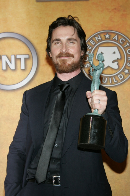 Christian Bale In The Press Room For 17Th Annual Screen Actors Guild Sag Awards - Press Room, Shrine Auditorium, Los Angeles, Ca January 30, 2011. Photo By James AtoaEverett Collection Celebrity - Item # VAREVC1130J03JO061