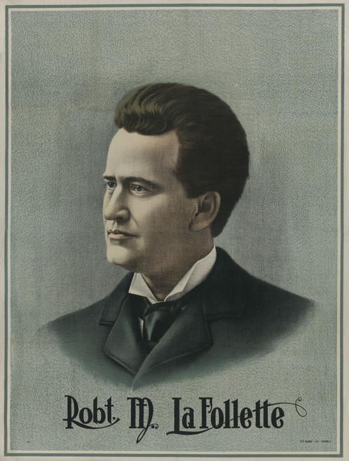 Poster Of Robert M. La Follette History - Item # VAREVCHISL044EC368