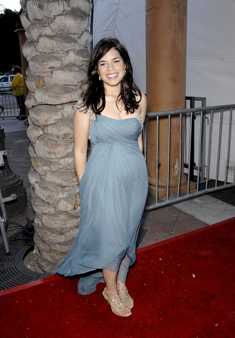 America Ferrera At Arrivals For Naacp 39Th Annual Image Awards, The Shrine Auditorium, Los Angeles, Ca, February 14, 2008. Photo By Michael GermanaEverett Collection Celebrity - Item # VAREVC0814FBAGM041