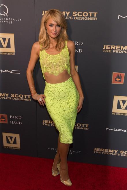 Paris Hilton At Arrivals For Jeremy Scott The People_S Designer Premiere, The Paris Theatre, New York, Ny September 15, 2015. Photo By Jason SmithEverett Collection Celebrity - Item # VAREVC1515S02JJ103