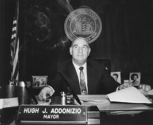 Newark Mayor Hugh Addonizio Back At His City Hall Desk On Dec. 18 History - Item # VAREVCCSUB001CS772