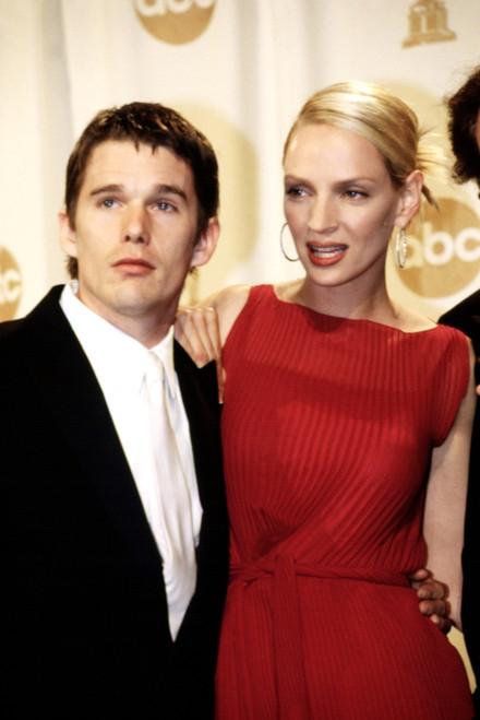 Ethan Hawke, Uma Thurman At The Academy Awards, March, 2000 Celebrity - Item # VAREVCPSDUMTHHR005
