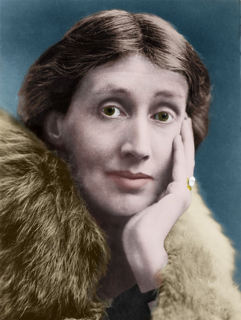 Virginia Woolf 1882-1941 English Novelist And Essayist In A Portrait Published In The Bookman Monthly Literary Periodical In January 1928. Photograph With Digital Color. Photo By 7 Continents HistoryEverett Collection - Item # VAREVCCLRA001BZ067