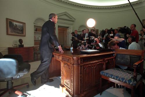 Oval Office Press Conference On Sept. 13 History - Item # VAREVCHISL039EC894