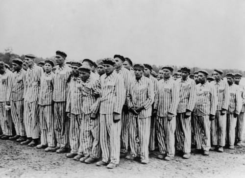 Roll Call At Buchenwald Concentration Camp History - Item # VAREVCHISL037EC330