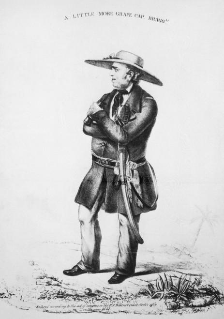 General Zachary Taylor At The Battle Of Buena Vista History - Item # VAREVCP4DZATAEC003