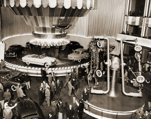 1949 Model Ford Cars Introduced To The Press And Public In Grand Ballroom Of The Waldorf-Astoria Hotel History - Item # VAREVCHISL014EC263