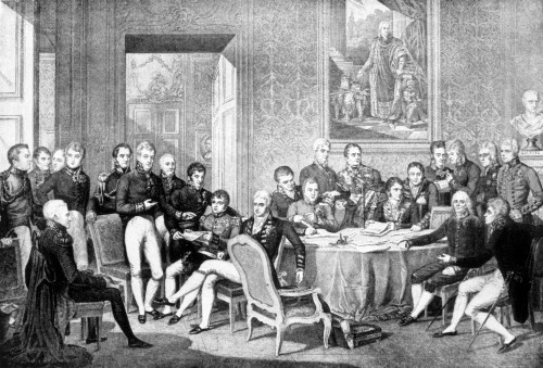 Congress Of Vienna History - Item # VAREVCH4DCOOFEC001