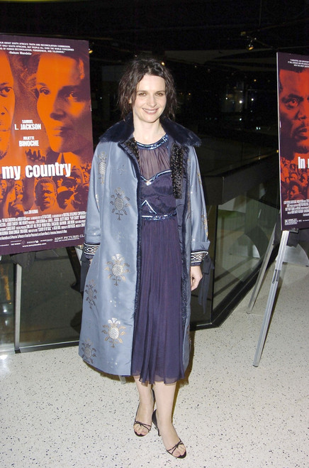 Juliette Binoche At Arrivals For In My Country Premiere, Pacific Design Center Silver Screen Theater, Los Angeles, Ca, March 3, 2005. Photo By Michael GermanaEverett Collection Celebrity - Item # VAREVC0503MRCGM009