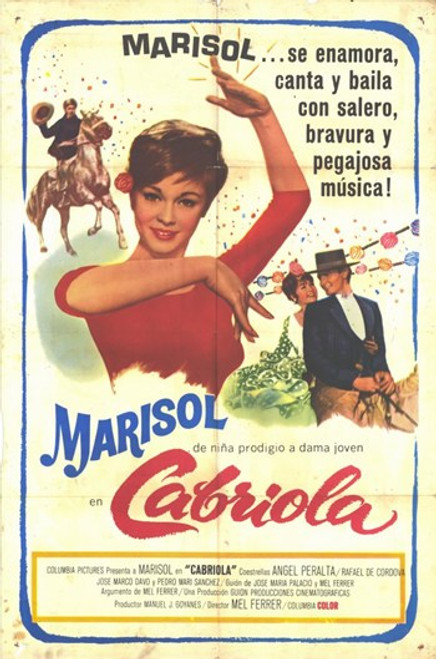 Cabriola Movie Poster (11 x 17) - Item # MOV227593
