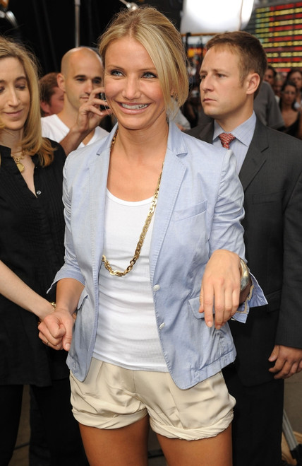 Cameron Diaz At Talk Show Appearance For Good Morning America Celebrity Guests, , New York, Ny June 22, 2010. Photo By Kristin CallahanEverett Collection Celebrity - Item # VAREVC1022JNFKH012
