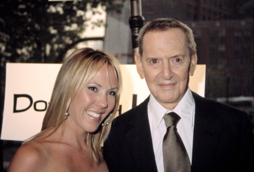 Tony Randall And His Wife Heather At The Opening Night Of The Tribeca Film Festival, Nyc, 5062003. Celebrity - Item # VAREVCPSDTORACJ004
