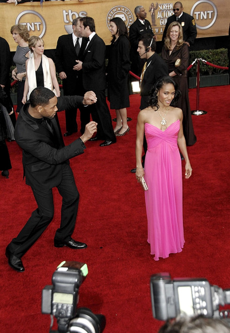 Will Smith, Jada Pinkett Smith At Arrivals For 13Th Annual Screen Actors Guild Sag Awards - Arrivals, The Shrine Auditorium, Los Angeles, Ca, January 28, 2007. Photo By Michael GermanaEverett - Item # VAREVC0728JABGM078
