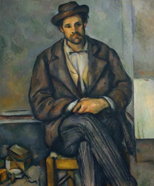 Seated Peasant Fine Art - Item # VAREVCHISL044EC842