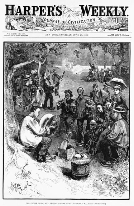 Chinese Immigrants History - Item # VAREVCHISL007EC083