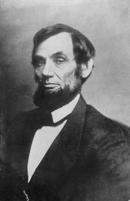 Abraham Lincoln Portrait By Mathew Brady In Between 1861 And 1863. History - Item # VAREVCHISL006EC020