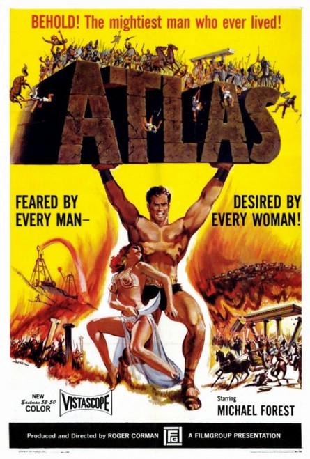 Atlas Movie Poster Print (27 x 40) - Item # MOVGF7436