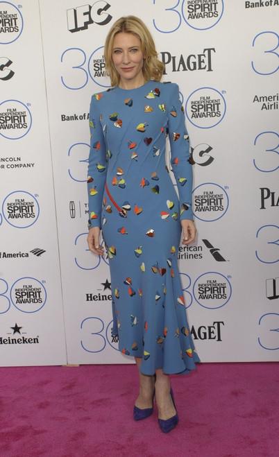 Cate Blanchett At Arrivals For 30Th Film Independent Spirit Awards 2015 - Arrivals 1, Santa Monica Beach, Santa Monica, Ca February 21, 2015. Photo By Elizabeth GoodenoughEverett Collection - Item # VAREVC1521F11UH153