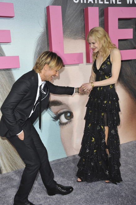 Keith Urban, Nicole Kidman At Arrivals For Big Little Lies Premiere On Hbo, Tcl Chinese Theatre, Los Angeles, Ca February 7, 2017. Photo By Elizabeth GoodenoughEverett Collection Celebrity - Item # VAREVC1707F07UH046