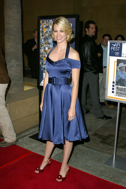 January Jones At Arrivals For The Three Burials Of Melquiades Estrada Premiere, The Egyptian Theatre, Los Angeles, Ca, November 07, 2005. Photo By Michael GermanaEverett Collection Celebrity - Item # VAREVC0507NVBGM006