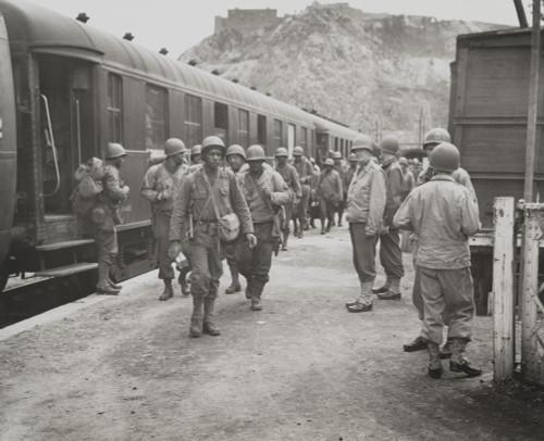 African American Troops Arriving In Cherbourg History - Item # VAREVCHISL037EC926