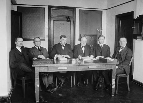 Owen J. Roberts And Atlee Pomerene With Staff Members History - Item # VAREVCHISL007EC604