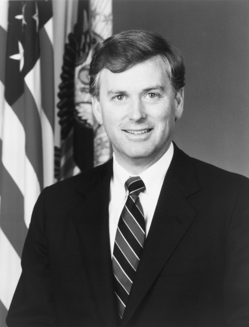 Official Portrait Of Vice President Dan Quayle. 1989. History - Item # VAREVCHISL013EC163