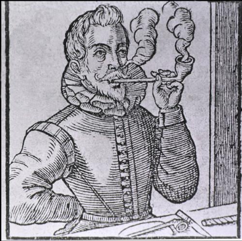 16Th Century Dutchman Smoking A Long-Stemmed Pipe History - Item # VAREVCHISL014EC287