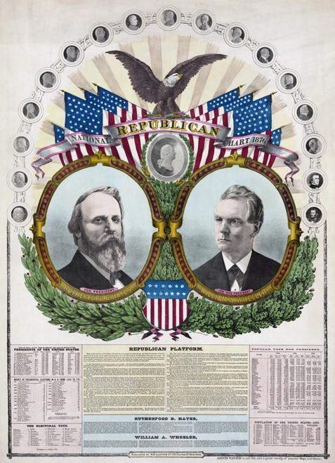 1876 Republican Presidential Candidate Rutherford B. Hayes History - Item # VAREVCHISL006EC149