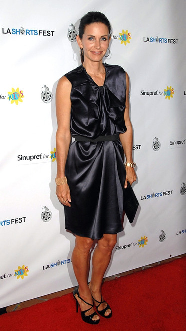 Courteney Cox Arquette At Arrivals For 13Th Annual Los Angeles Shorts Festival Opening Night, Laemmle_S Sunset 5, West Hollywood, Los Angeles, Ca July 23, 2009. Photo By Dee CerconeEverett Collection Celebrity - Item # VAREVC0923JLEDX037