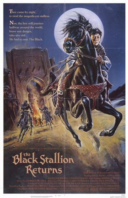 The Black Stallion Returns Movie Poster (11 x 17) - Item # MOV255078
