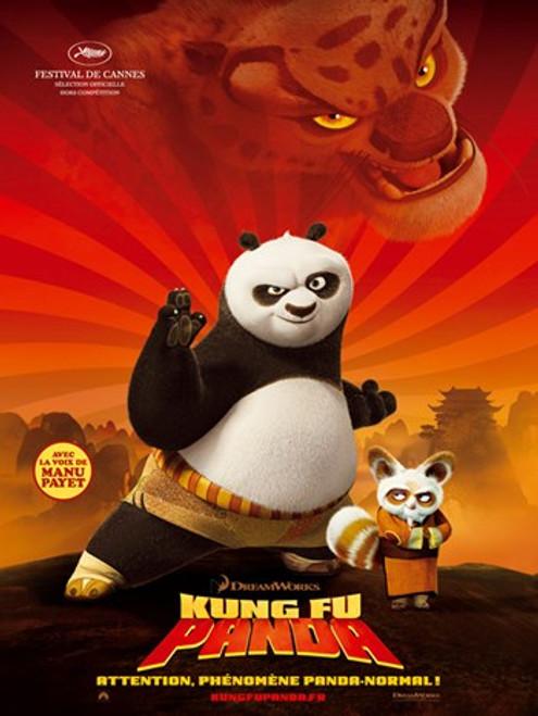 Kung Fu Panda Movie Poster (11 x 17) - Item # MOV415115