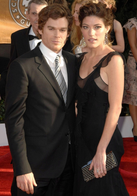 Michael C. Hall, Jennifer Carpenter At Arrivals For 15Th Annual Screen Actors Guild Sag Awards - Arrivals, Shrine Auditorium, Los Angeles, Ca, January 25, 2009. Photo By Dee CerconeEverett Collection Celebrity - Item # VAREVC0925JADDX035