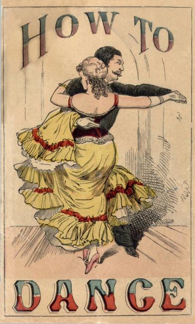 19Th Century Dance Manual History - Item # VAREVCHISL007EC512