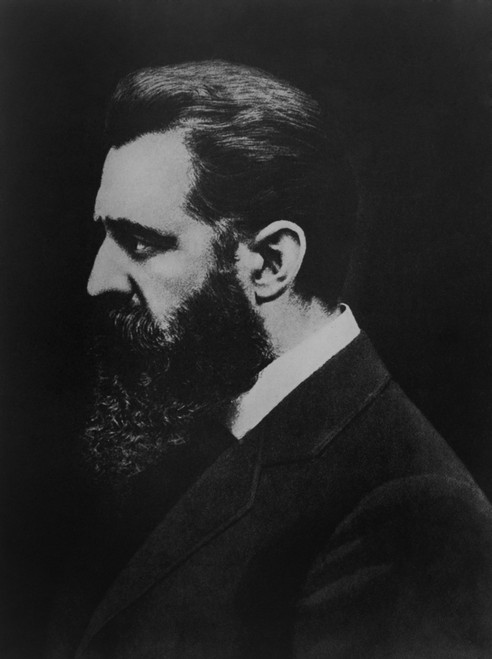 Theodore Herzl Founded The World Zionist Organization In 1897. He Promoted Jewish Migration To Palestine To Establish A Jewish Nation. - History - Item # VAREVCHISL039EC540