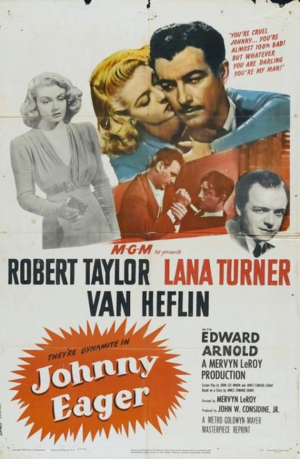Johnny Eager Movie Poster Print (27 x 40) - Item # MOVII5328