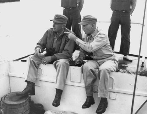 U.S. Commanders Go Ashore At Inchon History - Item # VAREVCHISL038EC282